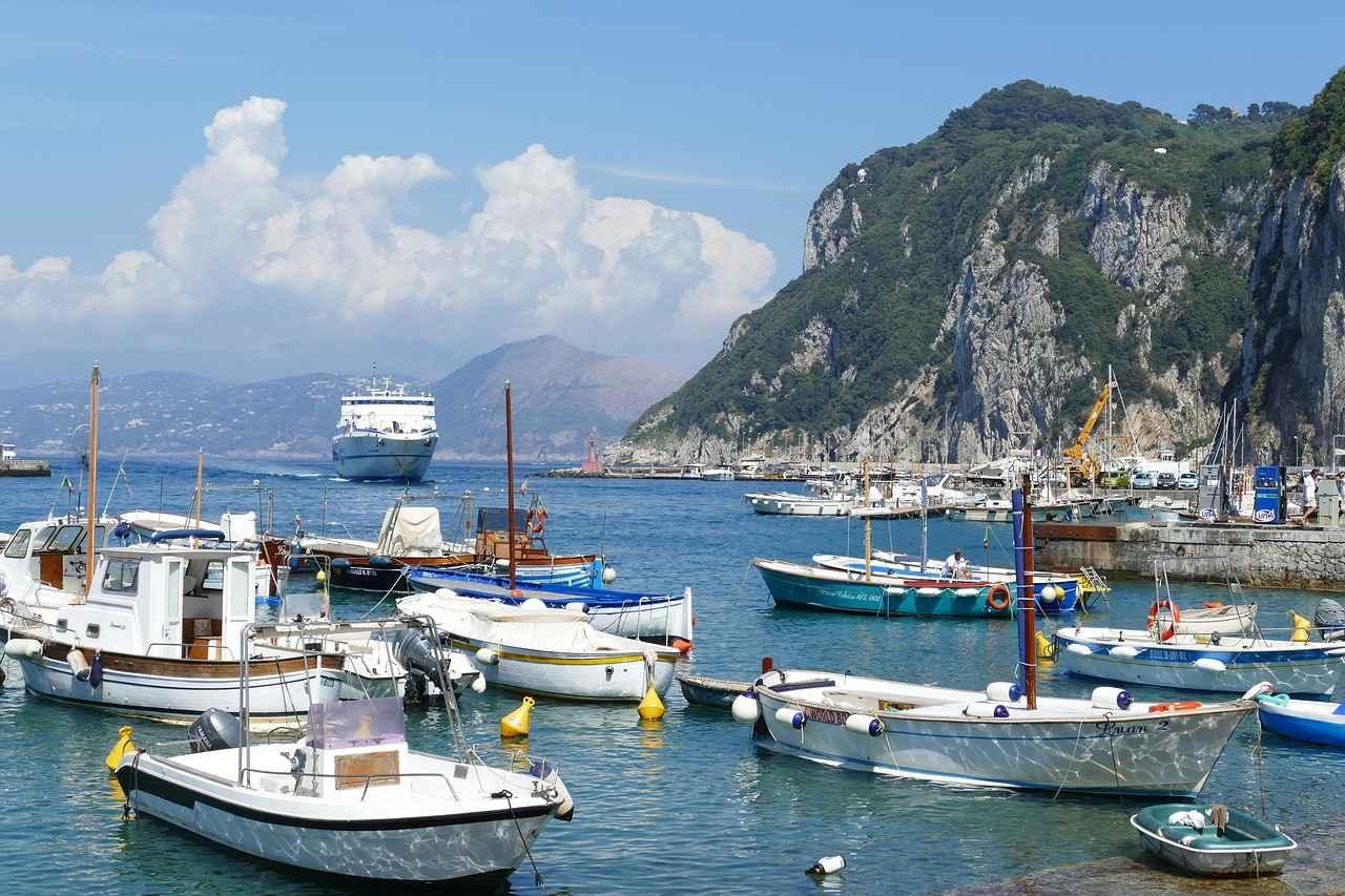 Wyspa bogaczy – Capri